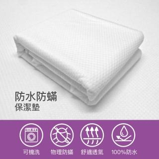 【orest】100%防水防蹣享適在輕薄保潔墊單人 3*6.2呎(100%防水防蹣床墊保潔)
