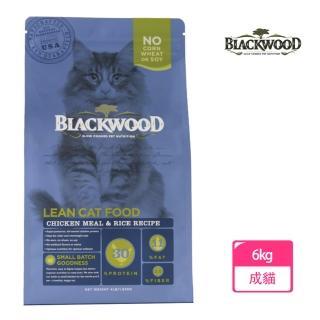 【BLACKWOOD 柏萊富】特調成貓低卡配方-13.23磅(雞肉+糙米)