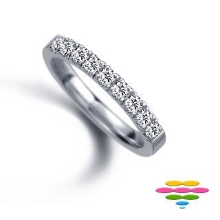 【彩糖鑽工坊】18K 鑽石戒指(Elegance系列)