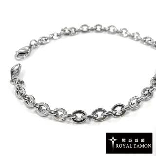 【ROYAL DAMON 羅亞戴蒙】原廠白鋼項鍊