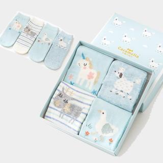 【Kidself】秋冬寶寶中筒卡通童襪4雙組-萌系動物(童襪)