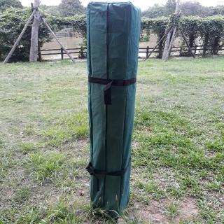 【Brother 兄弟牌】3Mx3M 強化型折疊休閒帳藍色及綠色任選-附收納袋色(戶外休閒)