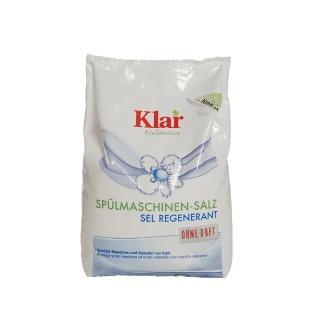 【德國Klar】天然再生鹽2kg(德國原裝進口 洗碗機專用)
