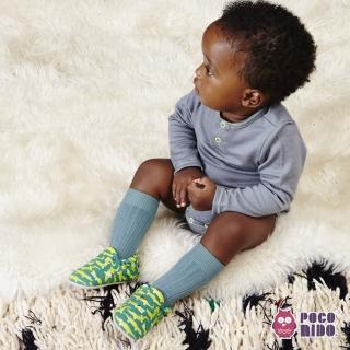 【POCONIDO】英國手工嬰兒鞋(鱷魚去旅行)