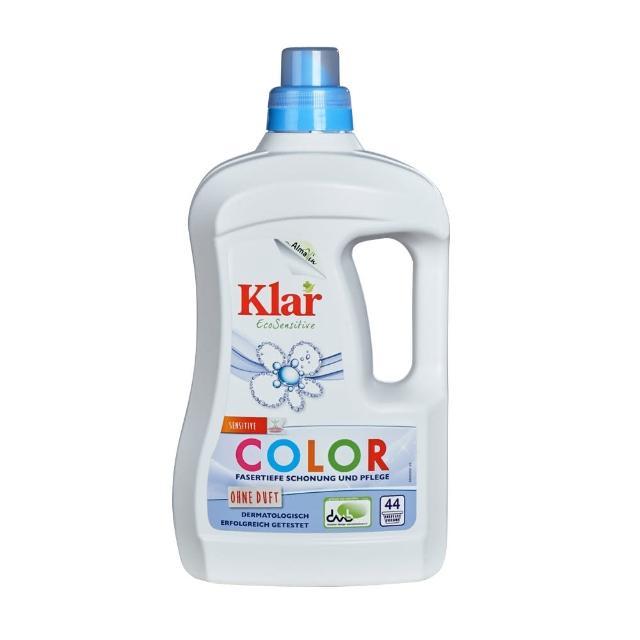 【德國Klar】天然環保洗衣精-低敏無香精2L(直立、滾筒洗衣機皆適用)/