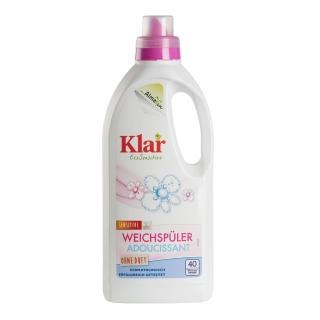 【德國Klar】天然環保衣物柔軟精1L(低敏無香精)