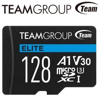 【Team 十銓】128GB 90MB/s microSDXC TF UHS-I U3 C10 記憶卡(彩卡版)