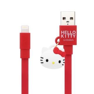 【GARMMA】Hello Kitty Apple Lightning 公仔吊飾傳輸線