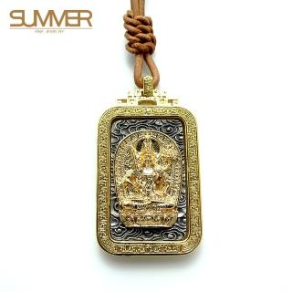 【SUMMER寶石】佛牌純銀項鍊(SB049)