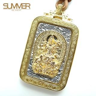 【SUMMER寶石】佛牌純銀項鍊(SB048)