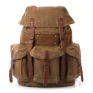 【Beartooth熊牙】BT-2755G克魯格 後背包(棕綠色)