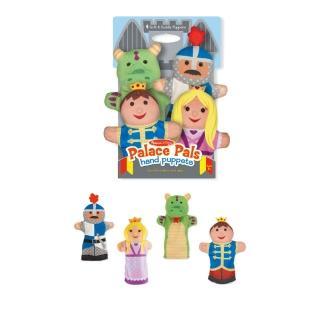 【Melissa & Doug 瑪莉莎】城堡手偶 玩具故事角色扮演職業生日禮物(益智成長 邏輯建構 原裝進口)