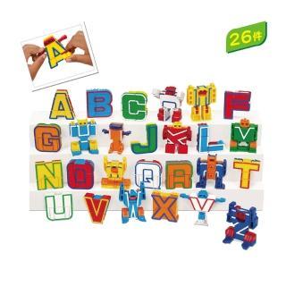【Lakeshore】字母機器人 字母互動遊戲 兒美教學兒童美語(益智成長 邏輯建構 原裝進口)