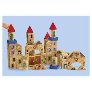【Lakeshore】城堡積木 社會扮演想像創造玩偶模型(益智成長 邏輯建構 原裝進口)