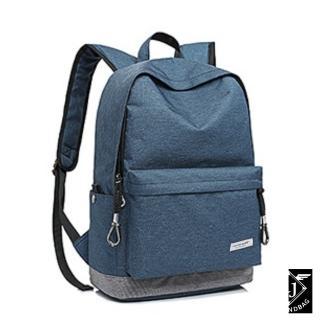 【A.J.亞介】萬年不敗基本款 實用好搭後背包 藍色(M9030)