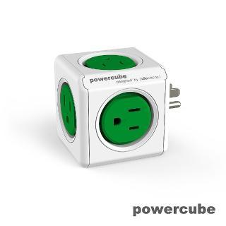 【索樂生活】荷蘭PowerCube 擴充插座5面3孔(自動斷電保護積木堆疊)
