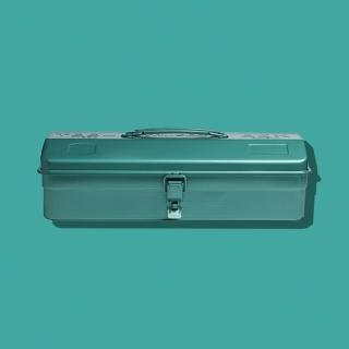 【Trusco】山型單層工具箱-銅綠(單層工具箱)