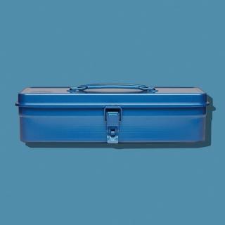 【Trusco】經典單層工具箱(大)-鐵藍(單層工具箱)