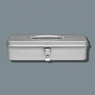 【Trusco】經典單層工具箱(大)-槍銀(單層工具箱)