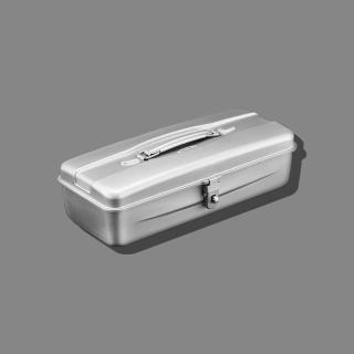 【Trusco】流線型工具箱(中)-槍銀(流線型工具箱)