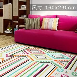 【范登伯格】SWING 玩色進口地毯-圖藤(160x230cm)