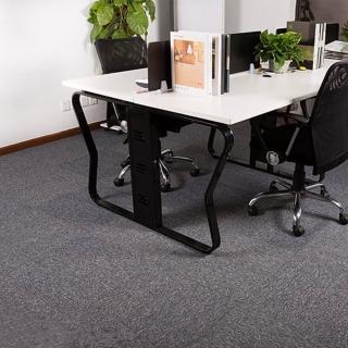 【JLM生活館】時尚拼接方塊吸音隔音地毯地板貼-36片一組「深灰GR10」(地毯、隔音、吸音、拼接、方塊)