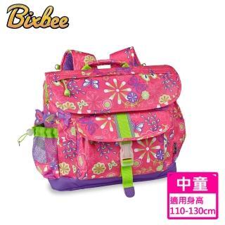 【美國Bixbee】迷彩系列彩蝶花園中童輕量減壓背書包