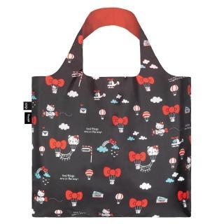 【LOQI】Hello Kitty 熱氣球 KT13(購物袋.環保袋.收納.春捲包)
