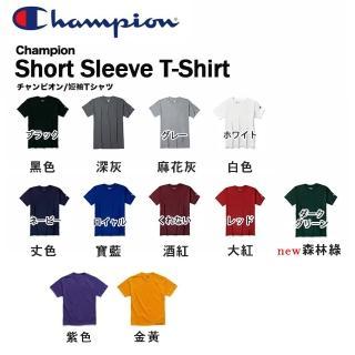 【CHAMPION】冠軍CHAMPION美線小標素T 電繡素T