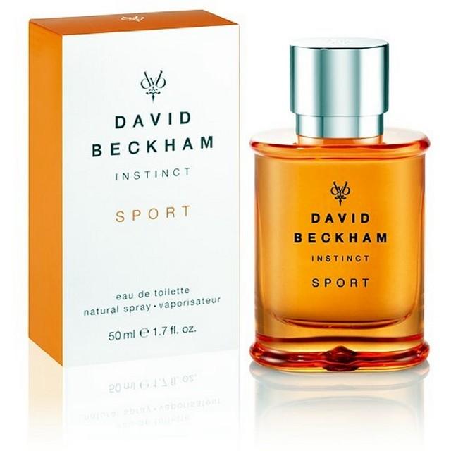 【David Beckham】Instinct Sport貝克漢同名男性運動淡香水(50ml)