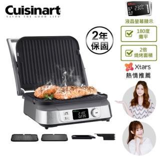 【1/17超品日最高回饋24%】Cuisinart美膳雅 數位面板溫控不沾電烤盤(GR-5NTW)