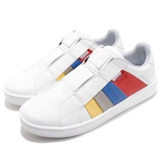 【ROYAL Elastics】休閒鞋 Prince Albert 運動 男鞋 低筒 懶人鞋 皮革 穿搭 舒適 白 彩(01483153)