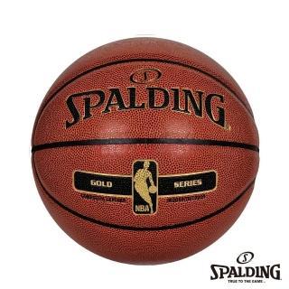 【SPALDING】斯伯丁 金色NBA 籃球 7號(PU)