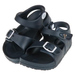 【布布童鞋】TOPUONE台灣製超輕量深藍色兒童涼鞋(C8A350B)
