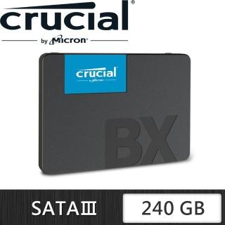 【Micron 美光】Crucial BX500 240GB SSD