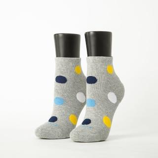【Footer】圓點氣泡微分子薄襪(T48-灰)