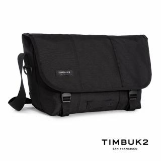 【Timbuk2】CLASSIC MESSENGER經典郵差包 S(14L  Jet Black黑色)