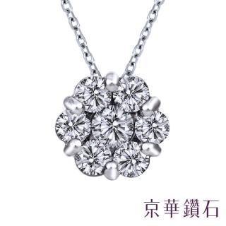 【Emperor Diamond 京華鑽石】鑽石項鍊10K 亮點 0.20克拉