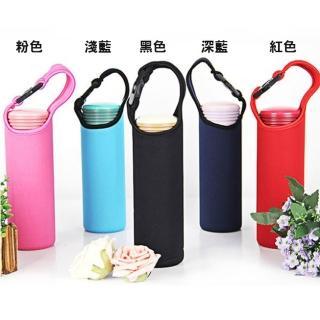【TDL】保溫杯杯套杯袋手提潛水料杯套素色款