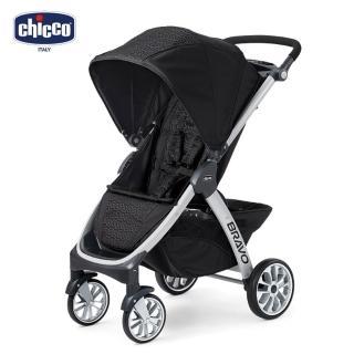【Chicco】Bravo極致完美手推車-優雅黑(嬰兒手推車)