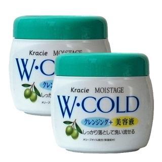 【Kracie 葵緹亞】Moistage雙效卸粧霜270g(二入組)