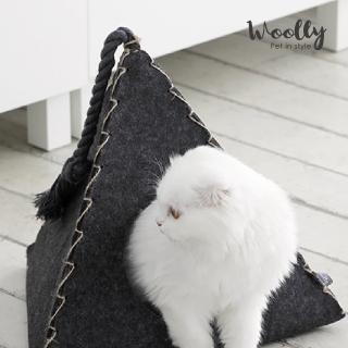 【Woolly】蒂蒂貓窩-三角形款(寵物睡窩/貓窩)