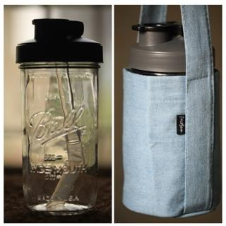 【玻波杯】玻璃杯 梅森杯 梅森罐 玻璃吸管 吸管水壺(彈跳吸管買粗送細/送牛仔杯套/送純綿杯套)