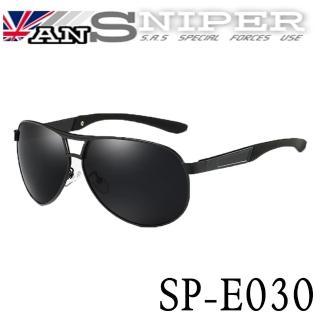 【英國ansniper】抗UV航鈦合金雷朋式偏光鏡組合SP-E030/黑鷹黑片/HD-CRAFTER英國系列(雷朋式偏光鏡)