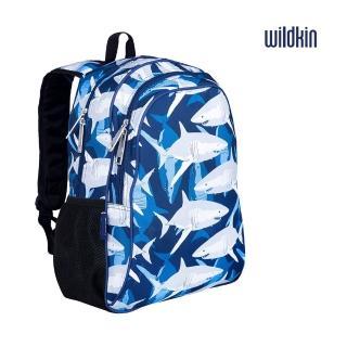 【Wildkin】兒童後背包/雙層式便利書包(14700鯊魚家族)
