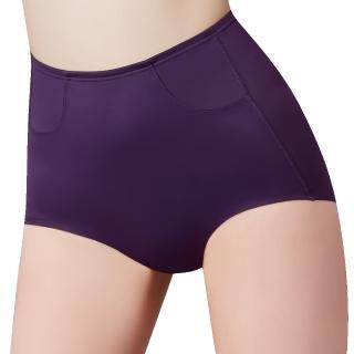 【Swear 思薇爾】輕塑型系列64-82高腰平口束褲(戀紫色)