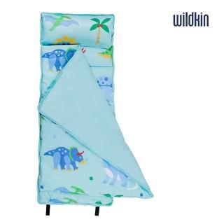 【美國Wildkin】無毒幼教睡袋/午覺毯/兒童睡袋(49408 恐龍樂園)