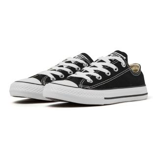 【CONVERSE 旗艦館】Chuck Taylor All Star Seasonal 黑 中大童 休閒鞋(3J235C)