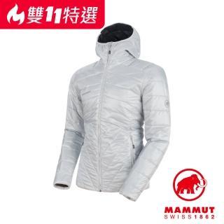 【Mammut 長毛象】Rime IN Hooded Jacket Men 保暖連帽化纖外套 男款 大理石 #1013-00390(保暖化纖)
