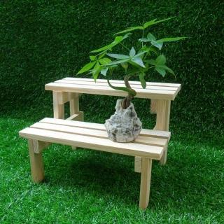 【園藝世界】小雙層木架